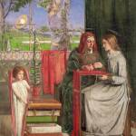 """Dante Gabriel Rossetti (1828 - 1882)  The Girlhood"" by motionage"