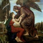 """Evelyn de Morgan - The Angel of Death 1890"" by motionage"