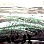 """""""WPC-B-002 Spring Trees"""" by cneartgallery"""