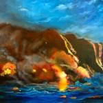 """""""Kilauea Volcano"""" by jennylee"""