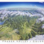 """Fraser Valley Colorado"" by jamesniehuesmaps"