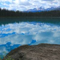 Cloudy Glacier Lake Art Prints & Posters by Paul Everett