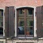"""""""WIndow and a half with shutters"""" by janesprints"""