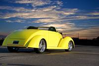 1937 Ford Roadster 3Q Rear