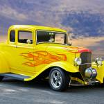 """1932 Ford Five-Window Coupe II"" by FatKatPhotography"