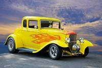 1932 Ford Five-Window Coupe II