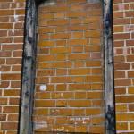"""Bricked up window Upper Castle Vilnius"" by janesprints"