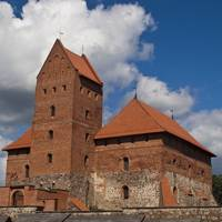 Part of Trakai Castle