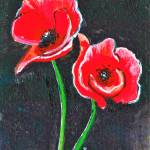 """Red Poppies"" by ChristinaO"