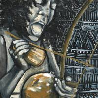 O Som do Berimbau Art Prints & Posters by Christina O. Birch