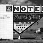 """Route 66 - Desert Skies Motel"" by Ffooter"