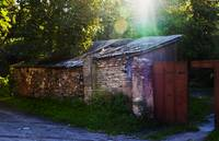 Shed in Courtyard Vilnius