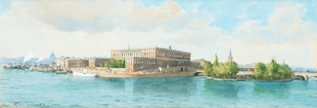 ANNA PALM DE ROSA, THE ROYAL PALACE IN STOCKHOLM.