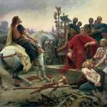 """Noel, Lionel (1852-1926) - Vercingetorix puts his"" by motionage"