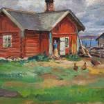 """Santeri Salokivi , cottage"" by motionage"