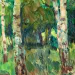 """SANTERI SALOKIVI, BIRCH TREES"" by motionage"