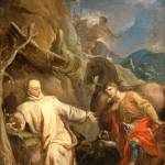 """""""Saint Martin Sharing his Coat with a Beggar Louis"""" by motionage"""