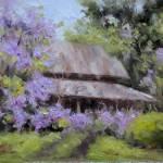 """""""Wisteria Barn"""" by Fiorello"""