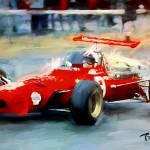 """312 Ferrari 1968, sachse"" by ArtbySachse"