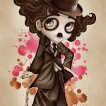 """The Little Tramp"" by sandygrafik_arts"