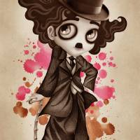 The Little Tramp Art Prints & Posters by SANDRA VARGAS