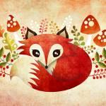 """""""Lazy Foxy"""" by sandygrafik_arts"""