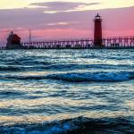 """Grand Haven Lighthouse"" by patsphotos"