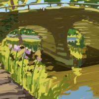 Stone Arch Bridge Art Prints & Posters by Roger White