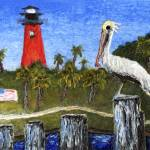 """Dawn at Jupiter Inlet Lighthouse Florida 52a"" by Ricardos"