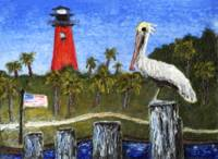 Dawn at Jupiter Inlet Lighthouse Florida 52a