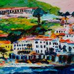 """Amalfi Impression Italy Pink Sky"" by GinetteCallaway"
