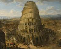 Flemish School, 17th Century THE TOWER OF BABEL