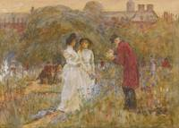 Helen Allingham, R.W.S. 1848-1926 THE OLD MEN'S GA