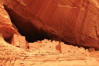 Cliff Dwelling at White House Ruins, Canyon de Che