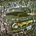 """Ford in the Woods HDR"" by LunarImage"