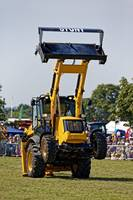 The Diggerland Dancing Digger Stunt Team