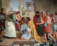 Joseph Reveals Himself to His Brothers   by Peter