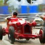 """Alfa-Romeo-8C-2300"" by ArtbySachse"