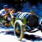 """Vintage Race Car at Indy"" by ArtbySachse"