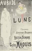 Sheet Music Aubade à la lune by Hector Sombre and