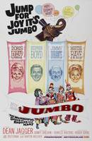 The original film poster for Billy Rose's Jumbo