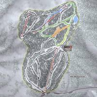 Mt Waterman Resort Trail Map