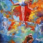 """Art of Tennis"" by mdinanfineart"