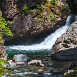 """""""Small Waterfall In Mountain Stream"""" by Kirtdtisdale"""