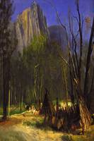 Bierstadt 1902 Indians in Council - PD Image