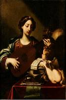 Desubleo (17th Century)Allegory of Music - PD Imag
