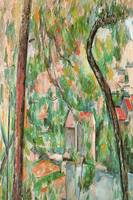 Cezanne 1885  - The twisted tree - PD Image