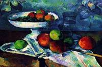 Cezanne 1880 - Still Life with Fruit Bowl - PD Ima