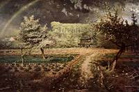 Millet 1873 Spring at Barbizon - PD Image