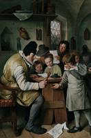 Steen 1665 The Village School - PD Image
